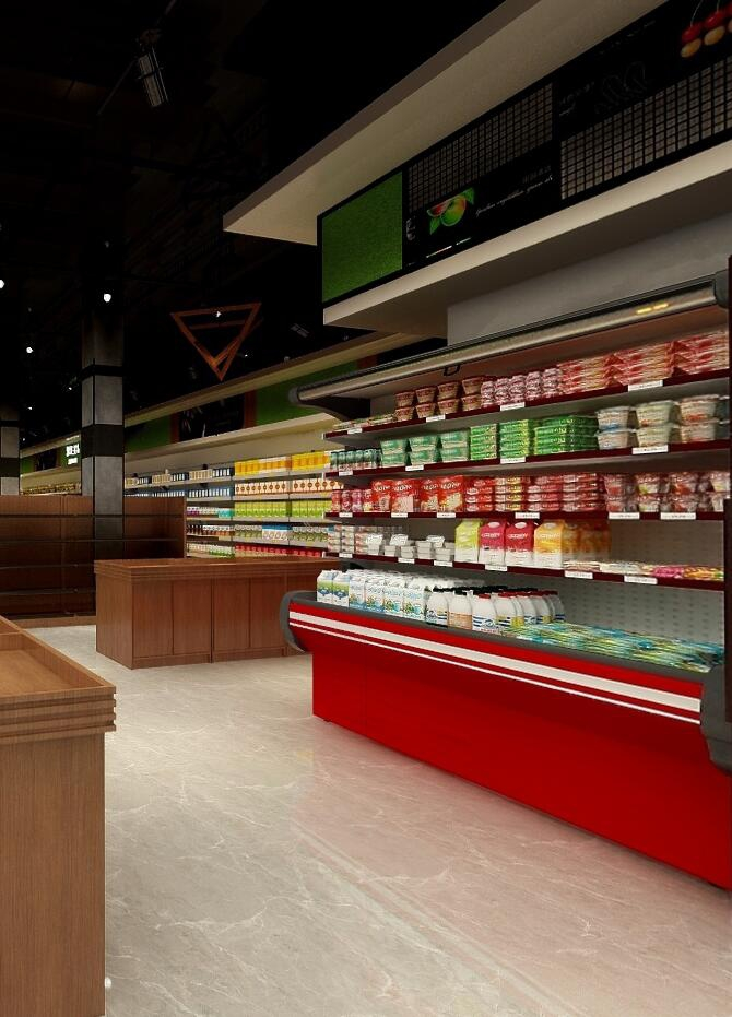 超市卖场装修设计风格